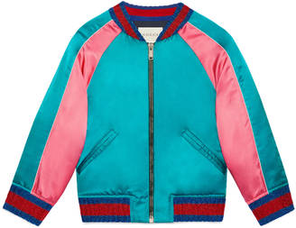 Children's bomber with cat $1,290 thestylecure.com