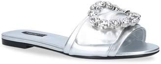 Dolce & Gabbana Lilium Slide Strass