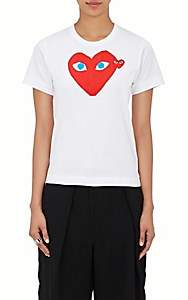 Comme des Garcons Women's Graphic Cotton T-Shirt - White