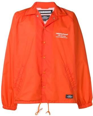 Neighborhood long-sleeve fitted jacket