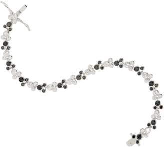 Disney Mickey's 90th Birthday Diamonique Black & White Tennis Bracelet