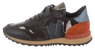 Valentino Rock Runner Camouflage Sneakers