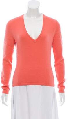 Michael Kors Cashmere-Blend V-neck Sweater
