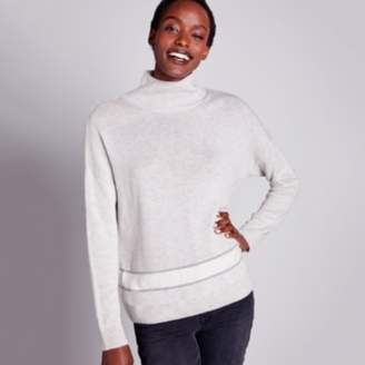 The White Company Stripe Hem Jumper