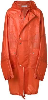 Walter Van Beirendonck rain coat