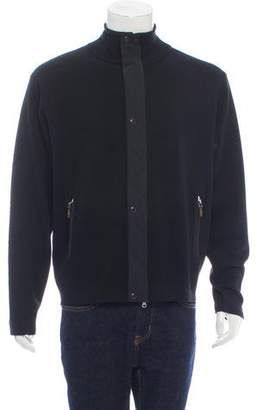 Bobby Jones Collection Zip-Up Wool Sweater