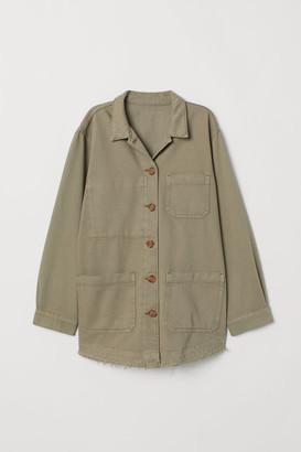 H&M Denim Utility Jacket - Green