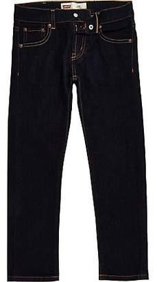 River Island Boys Levi's dark blue skinny fit jeans