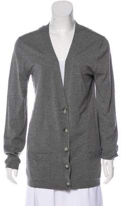 Theory Knit Button-Up Cardigan