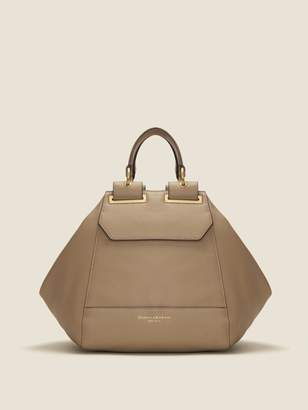 DKNY Cannes Pebbled Leather Satchel