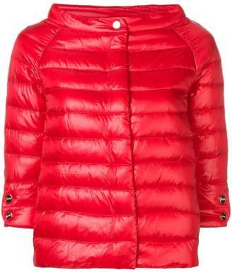 Herno short puffer jacket