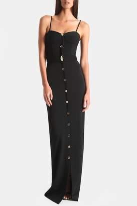 Cushnie Black Petra Bustier Gown