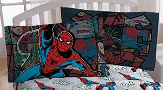Marvel Spiderman 'Jump Kick' Microfiber Standard Pillowcase