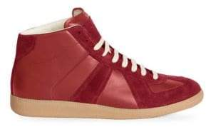 Maison Margiela Replica Mid-Top Sneakers