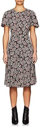 Etoile Isabel Marant Women's Lexia Abstract-Print Crepe A-Line Dress