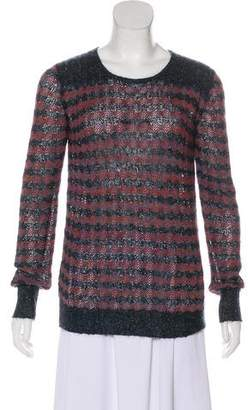 Marc by Marc Jacobs Patterned Crew Neck Sweatera