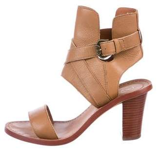 Ash Queenie Leather Sandals