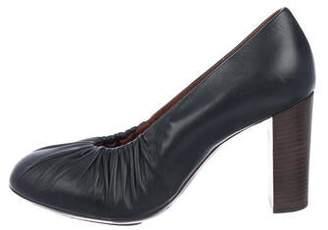 88795b6587 Dries Van Noten Leather Heels - ShopStyle Canada