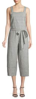 BeachLunchLounge Beach Lunch Lounge Striped Cropped Jumpsuit