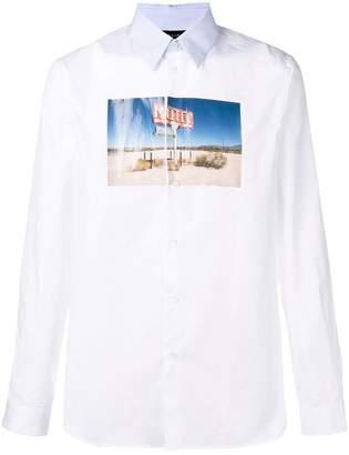 No.21 graphic print shirt