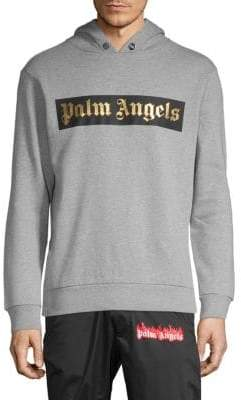 Palm Angels Logo Pullover Hoodie