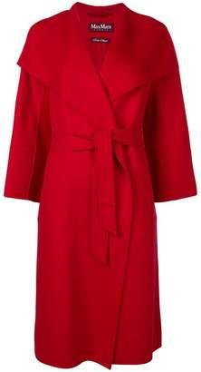 Max Mara belted midi coat