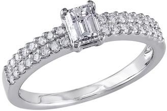 Affinity Diamond Jewelry Emerald-Cut Diamond Ring, 3/4ttw 14K White Goldby Affinity