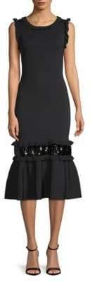 Sachin + Babi Sequin Midi Fishtail Dress