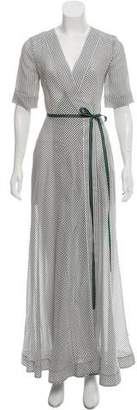Diane von Furstenberg Stripe Maxi Dress