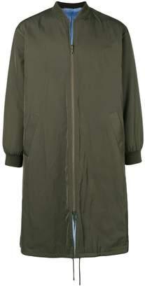 Liska long padded coat
