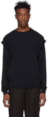 The Viridi-anne Black Crewneck Sweater