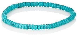 Barneys New York Men's Turquoise Beaded Bracelet - Turquoise