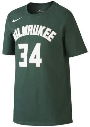 Nike Icon NBA Bucks (Antetokounmpo) Older Kids'(Boys') Basketball T-Shirt