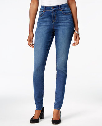 Style & Co Performance Stretch Skinny Jeans, Only at Macy's $59.50 thestylecure.com