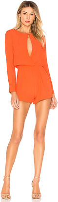 superdown Tamara Open Front Romper
