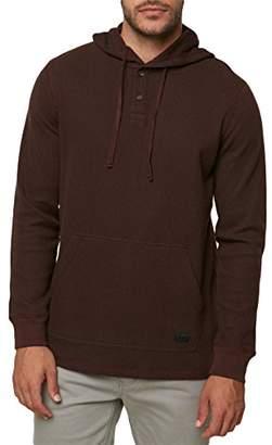 O'Neill Men's Thermal Hoodie Henley Shirt
