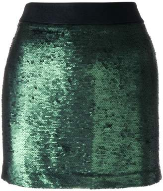 Black Coral Disco mini skirt