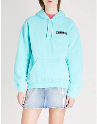 N16 VINTAGE LTD Logo-patch cotton-jersey hoody