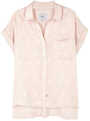Rails Whitney Pineapple-print Linen