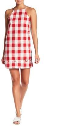 Sugar Lips Sugarlips Picnicking Lace-Up Hem Dress