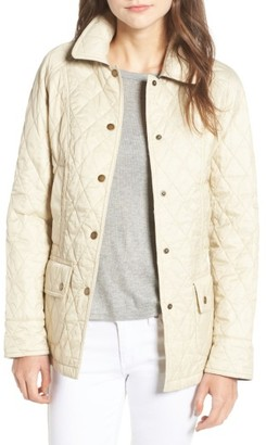 Women's Barbour 'Beadnell - Summer' Quilted Jacket $229 thestylecure.com