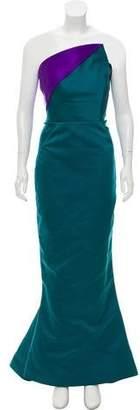 Zac Posen Strapless Evening Gown