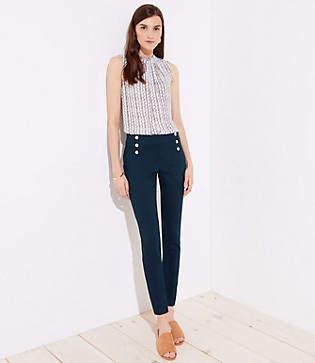 LOFT Skinny Sailor Pants in Marisa Fit
