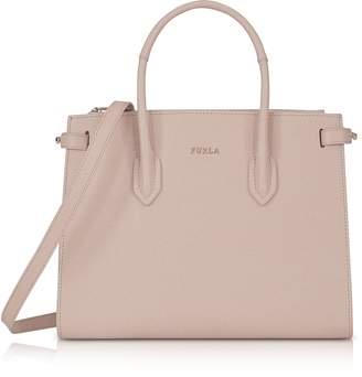Furla Saffiano Leather Pin Small E/W Tote Bag