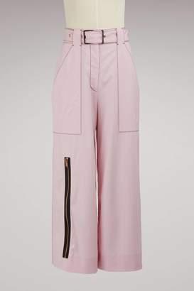 Proenza Schouler Wool culottes