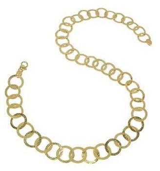 Torrini Tuscania - 18K Yellow Gold Large Chiselled Chain