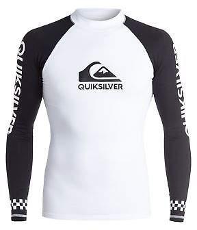 Quiksilver NEW QUIKSILVERTM Mens On Tour Long Sleeve Rash Vest 2017 Rashie Rashvests