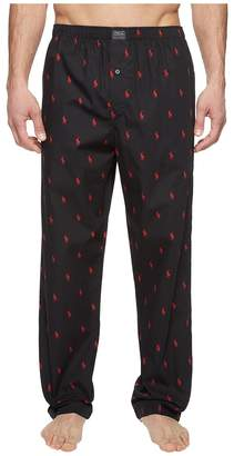 Polo Ralph Lauren All Over Pony Player Woven Pants Men's Underwear