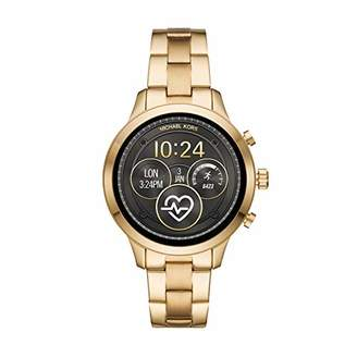 Michael Kors Women's Access Runway Stainless Steel Plated Touchscreen Watch with Strap