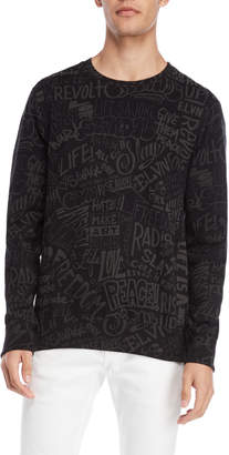 Eleven Paris Scribble Sweatshirt